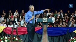 Lima Peru  city photos : Obama Town Hall In Lima, Peru - Full Event