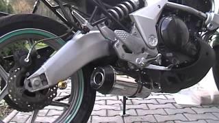5. Kawasaki Versys 650 original exhaust vs. Beowulf (sound)