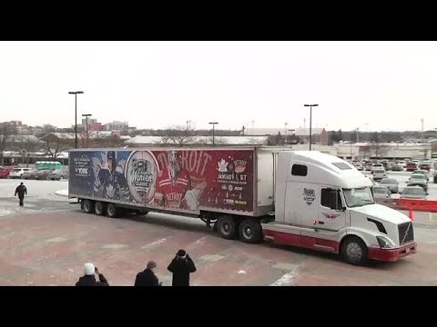 Video: Ice Truck arrives at The Big House