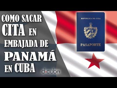 Sacar CITA en la Embajada de Panamá en Cuba