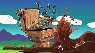 Minecraft | BASE VS POOP TSUNAMI - Tsunami Challenge! (Does it Smell?)