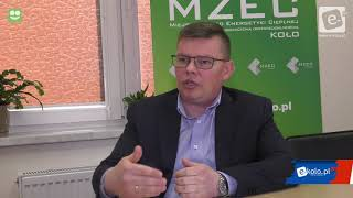 Prezes MZEC o aktualnym stanie ciepłownictwa w Kole