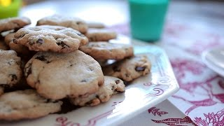 Cookies con chips de chocolate sin gluten
