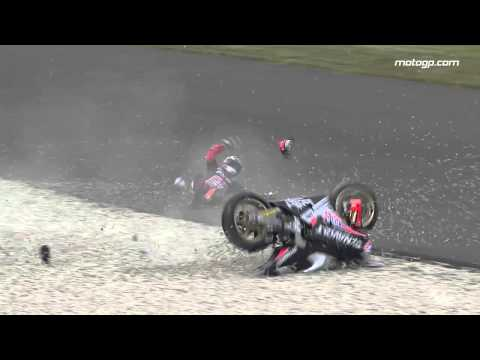 le - A selection of spectacular crash footage from the Monster Energy Grand Prix de France, at the Le Mans circuit.