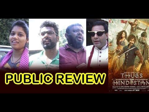 First Day Public Review | Thugs of Hindostan | Aamir Khan | Amitabh Bachchan | Katrina Kaif
