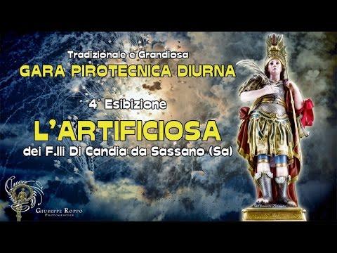 ADELFIA (Ba) - SAN TRIFONE 2016 - L'ARTIFICIOSA dei F.lli Di Candia da Sassano (Sa) - Diurno