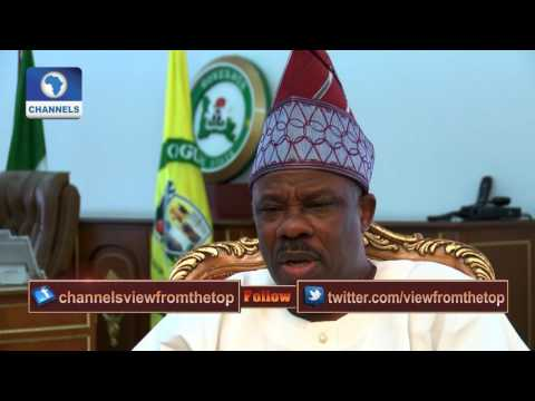 View From The Top Hosts Gov. Ibikunle Amosun Pt. 1