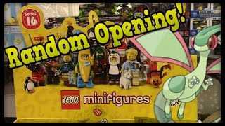 Lego Mini-Figure Series 16 Blind Bag Opening! by Master Jigglypuff and Friends
