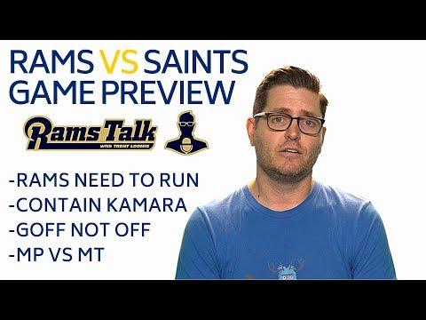 Rams vs Saints Game Preview | LA Rams Talk