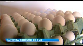 Consumo de ovos aumenta e preços sobem.