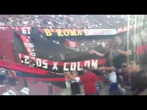 Fiesta después del segundo gol vs Gimnasia. - Los de Siempre - Colón