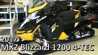 10. 2017 MXZ Blizzard 1200 4-TEC