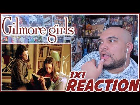 """Gilmore Girls Reaction Season 1 Episode 1 """"Pilot"""" 1x1 REACTION!!!"""