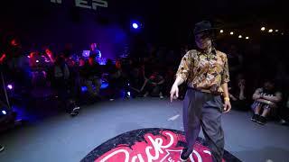 Baturo vs Yukiko – Back to the future battle 2018 Popping pro 1/8