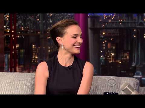 Natalie Portman on David Letterman - November 6 2013 - Full Interview