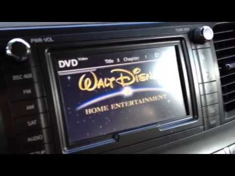 Trick For Toyota Sienna Minivan DVD Player And Navigation Screen