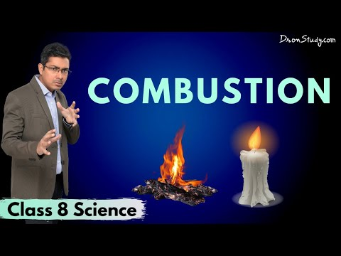 Combustion | CBSE Class 8 Science
