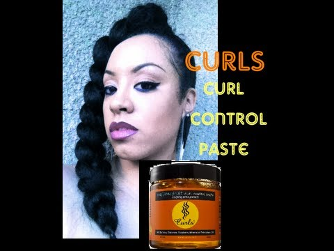 (Natural Hair) Product Review- CURLS Control Paste Sculpting Shine Pomade