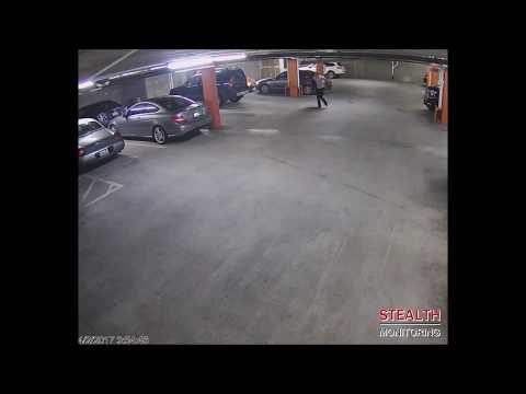 Multifamily Residential Parking Garage Break-In and Arrest