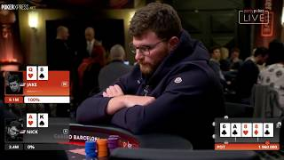 Video Hitting QUADS against pocket ACES or a FULL HOUSE! MP3, 3GP, MP4, WEBM, AVI, FLV Maret 2019