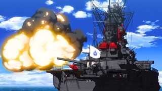 Video WARSHIPS IN ACTION! FIRE SCENE(High School Fleet ハイスクール・フリート) MP3, 3GP, MP4, WEBM, AVI, FLV Juni 2018