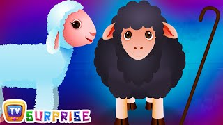 Baa Baa Black Sheep Surprise Eggs Nursery Rhymes - Learn Colours & Domestic Animals with ChuChu TV Surprise Eggs Nursery Rhymes. Make your kids enjoy the sur...