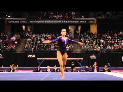Jordyn Wieber - Floor Exercise Finals (1st place!) - 2012 Kellogg's Pacific Rim Championships
