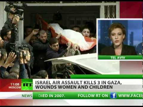 Gaza Under Fire: Israel air assault claims civilian lives