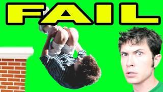 FRONT FLIP FAIL!