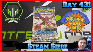 Pokemon Pack Daily XY: STEAM SIEGE Booster Opening Day 431 - Featuring Antreezy Opens by ThePokeCapital