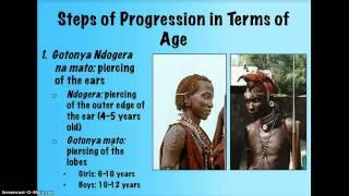 Gikuyu Education Before European Influence.