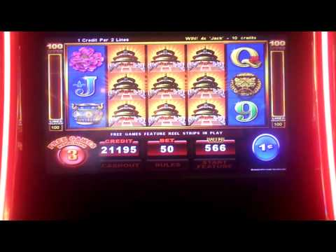 Emperor's Garden Slot Machine Bonus