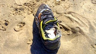 The Mystery Of The Human Foot In Sneakers That Keep Washing Ashore In Canada