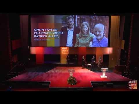 Simon Taylor of Global Witness Accepts Skoll Award for Social Entrepreneurship