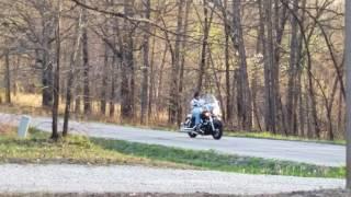 3. Drive by on dad's motorcycle! 2005 Kawasaki Vulcan Drifter 1500