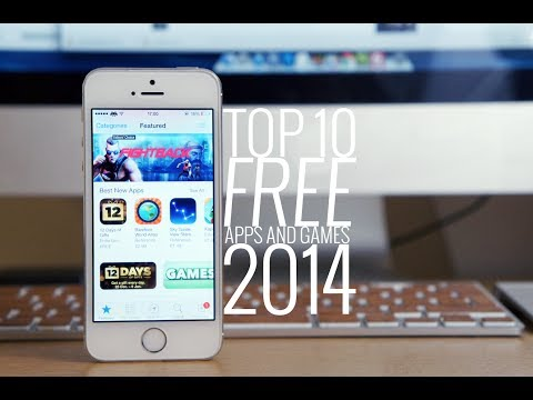 Top 10 FREE Applications and Games for iPhone/iPod/iPad 2014