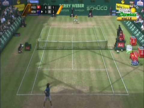 Lleyton Hewitt vs Roger Federer Final de Halle 2010