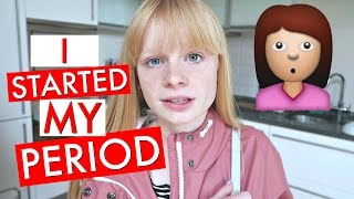 Video i STARTED MY PERiOD MUM! 😳 MP3, 3GP, MP4, WEBM, AVI, FLV Maret 2018