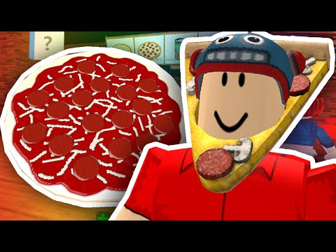 WORKING AT A PIZZA PLACE!! | Roblox (видео)