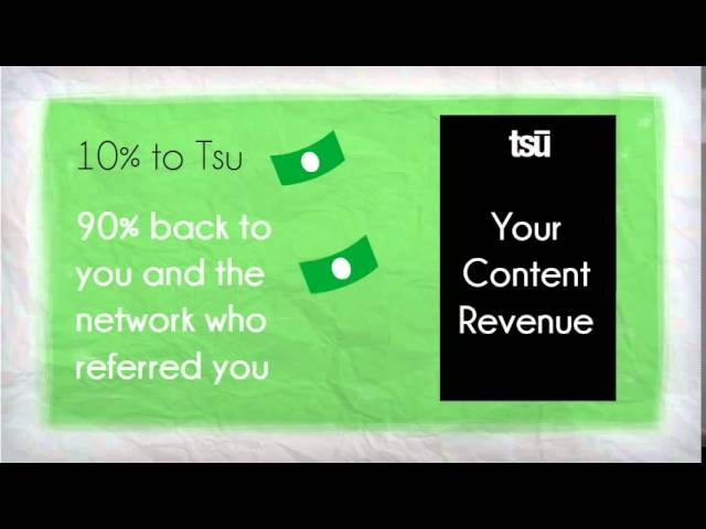 Tsu: Social Media that Pays You!
