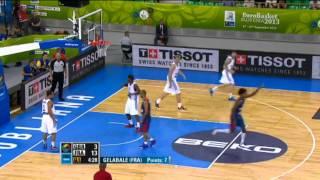 Dunk of the Game M. Gelabale GBR-FRA EuroBasket 2013