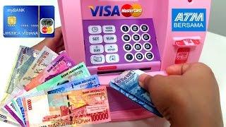 Video Mainan Mesin ATM Pakai Uang Beneran 💖 TABUNGAN/CELENGAN Anak 💖 Let's Play Jessica 💖 MP3, 3GP, MP4, WEBM, AVI, FLV Januari 2018