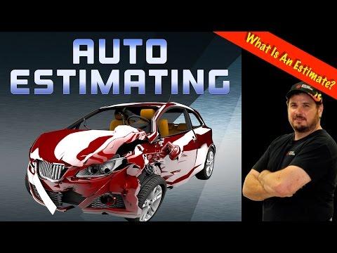 What Is An Damage Repair Estimate? - Auto Estimating Part 1
