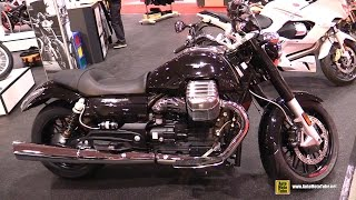 10. 2015 Moto Guzzi California 1400 Custom - Walkaround - 2015 Toronto Motorcycle Show