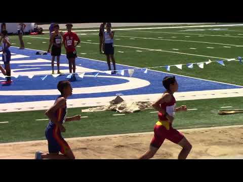 Hector Martinez 1500M Race  USATF Southern California Association Championship 6/9/2018