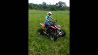 6. 2004 Arctic Cat DVX 400- Rippin Up The Field