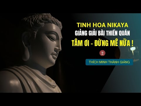 Tinh Hoa NIKAYA - Giảng Giải Bài Thiền Quán - Tâm Ơi  Đừng Mê Nữa ! 2