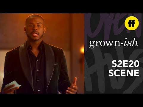 grown-ish Season 2, Episode 20 | Aaron's Black Minds Matter Speech | Freeform