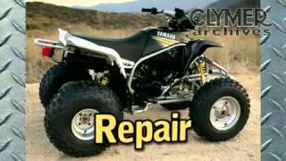 9. Clymer Manuals Yamaha Blaster Manual YFS200 Manual YFS 200 ATV Four Wheeler Service Manual