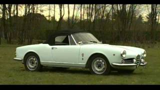 Alfa Romeo Giulietta Spider - Dream Cars